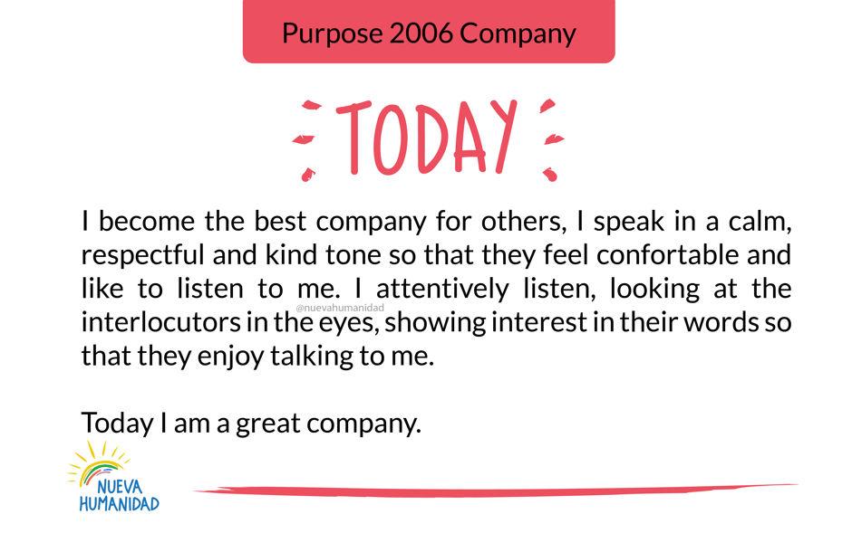 Purpose 2006 Company