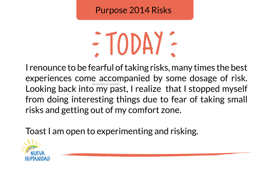 Purpose 2014 Risks