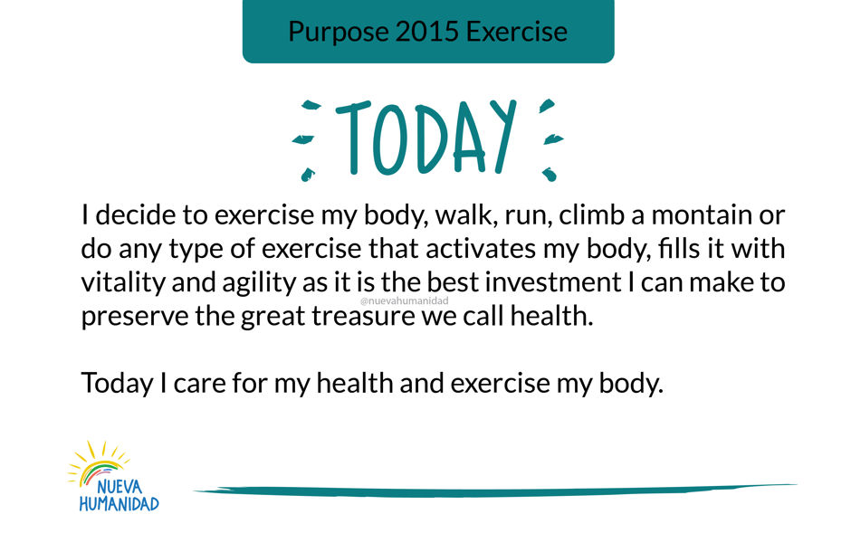 Purpose 2015 Exercise