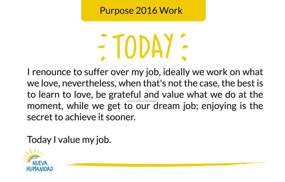 Purpose 2016 Work
