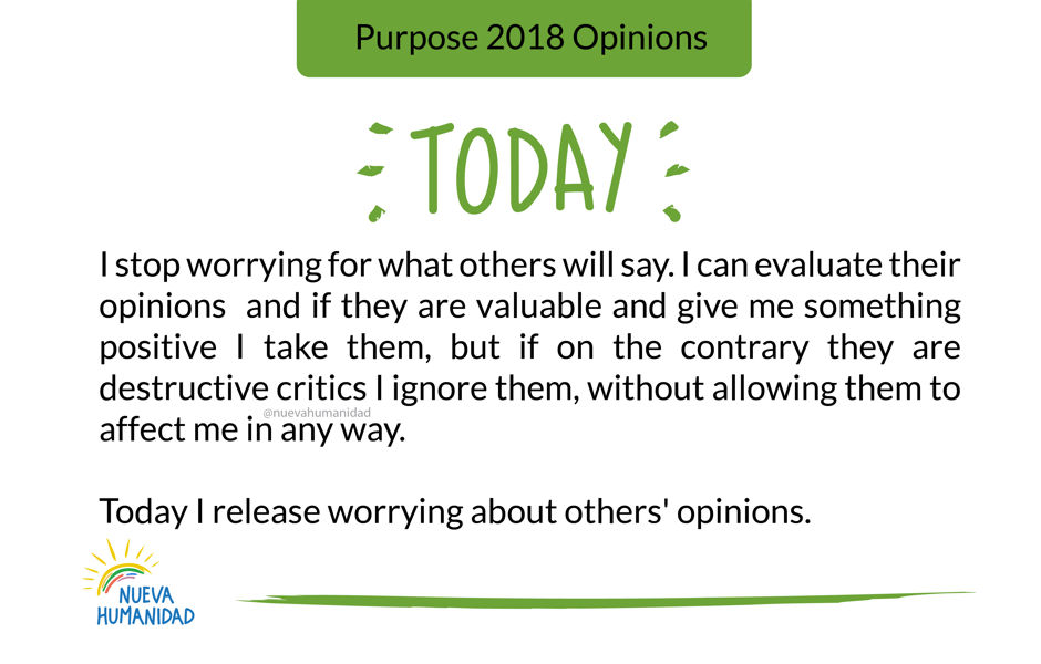 Purpose 2018 Opinions