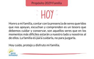 Propósito 2029 Familia