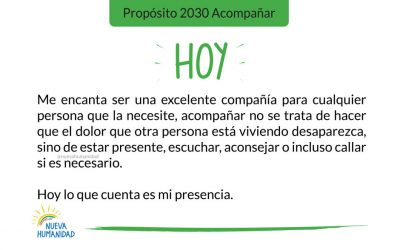 Propósito 2030 Acompañar