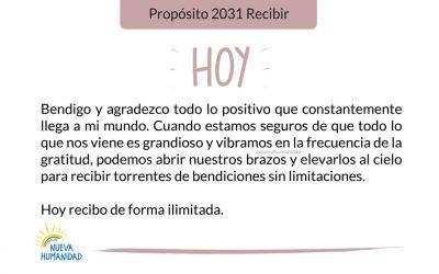 Propósito 2031 Recibir