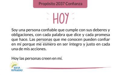 Propósito 2037 Confianza