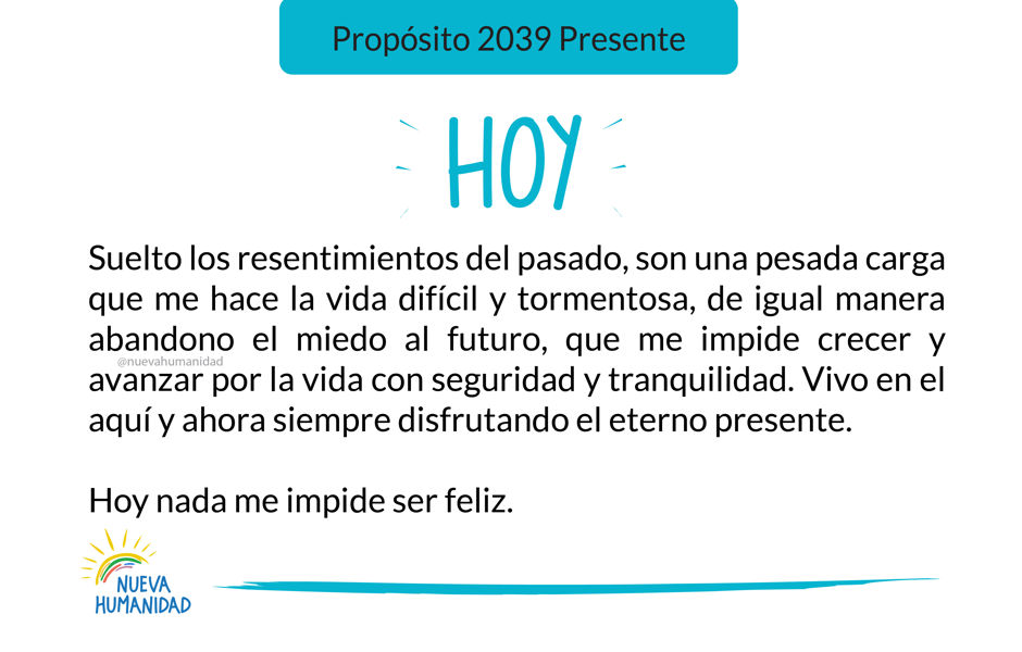 Propósito 2039 Presente