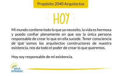 Propósito 2040 Arquitectos