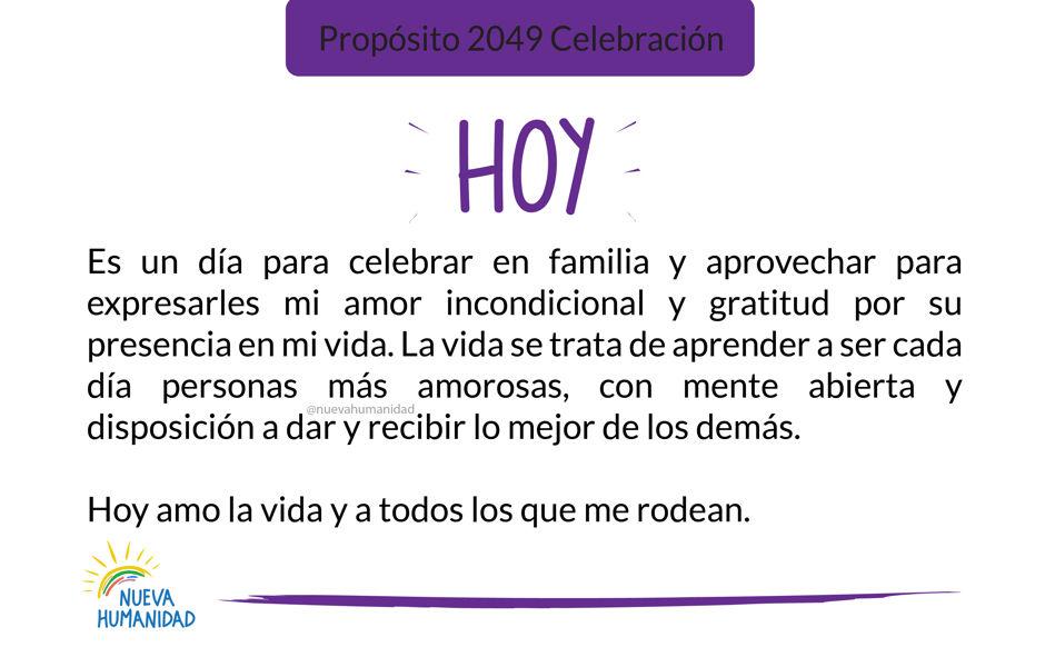Propósito 2049 Celebración