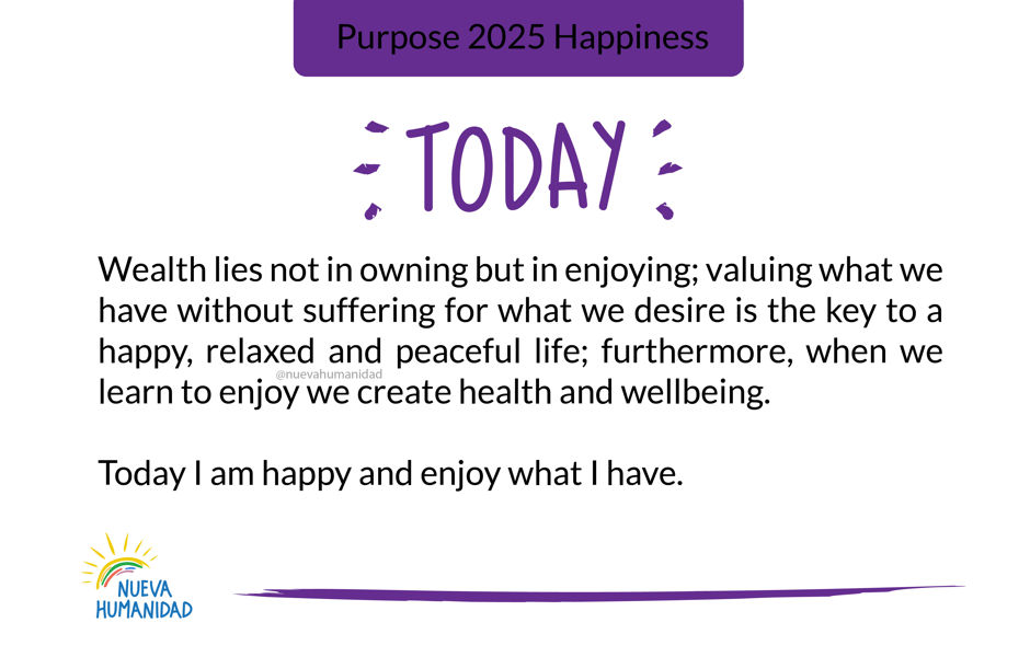 Purpose 2025 Happiness