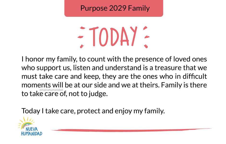 Purpose 2029 Family