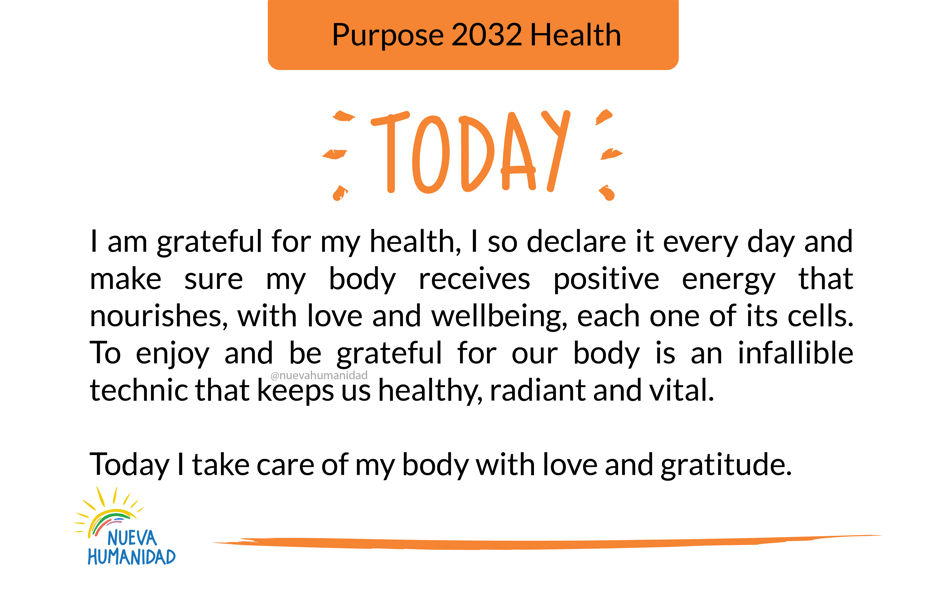 Purpose 2032 Health