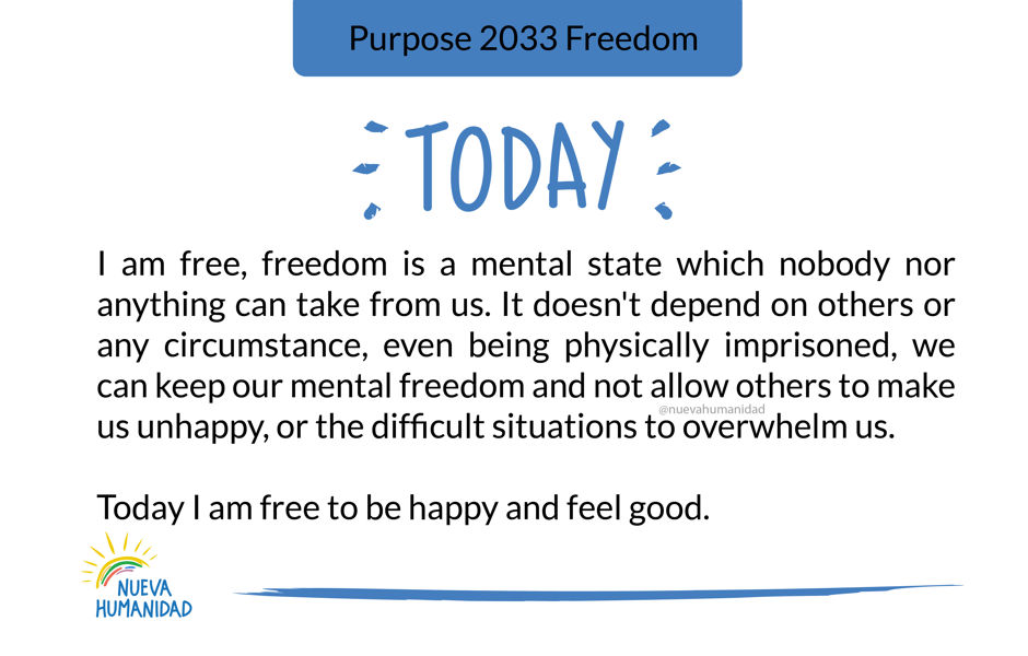 Purpose 2033 Freedom