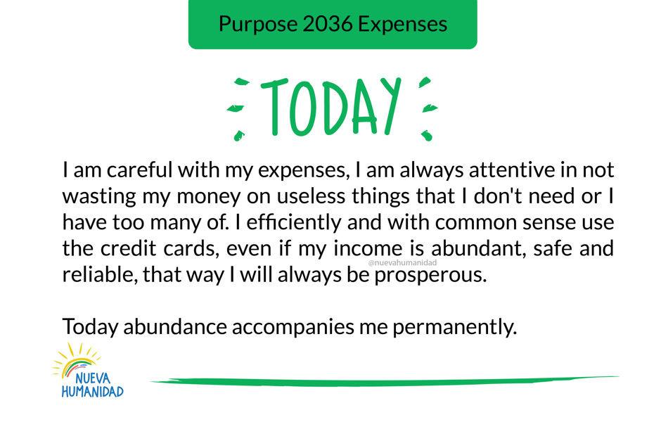 Purpose 2036 Expenses