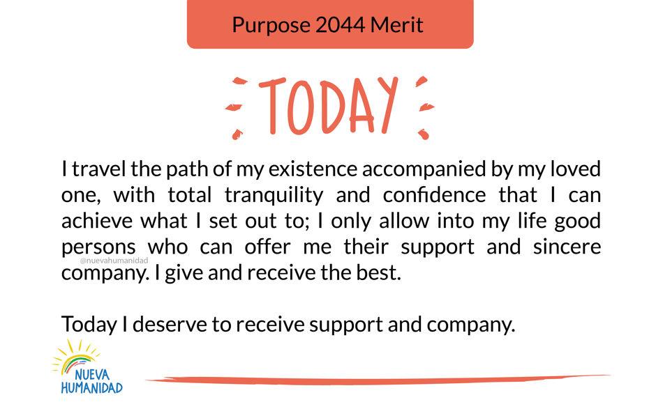 Purpose 2044 Merit