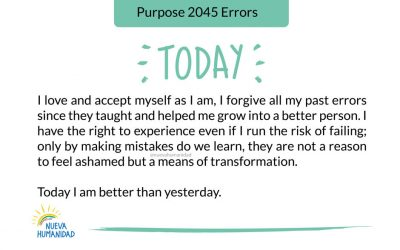 Purpose 2045 Errors
