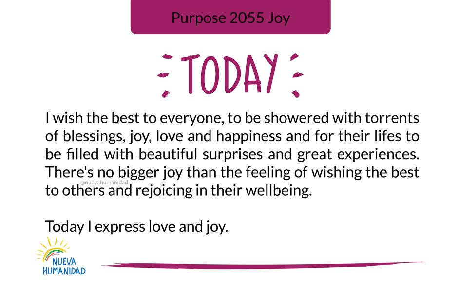 Purpose 2055 Joy