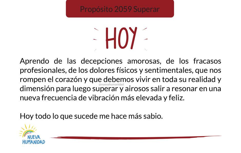 Propósito 2059 Superar