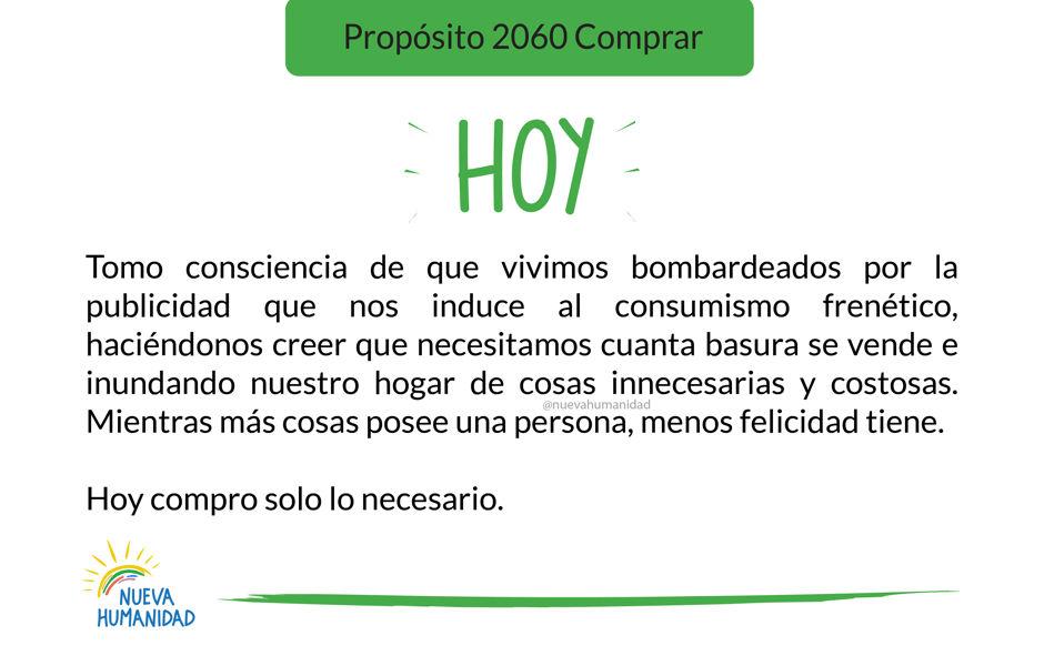 Propósito 2060 Comprar