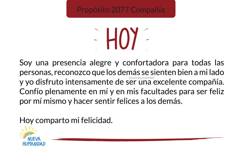 Propósito 2077 Compañía