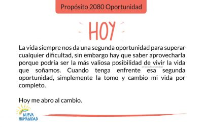 Propósito 2080 Oportunidad