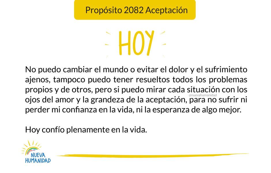 Propósito 2082 Aceptación