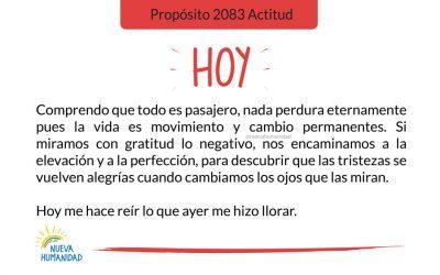Propósito 2083 Actitud