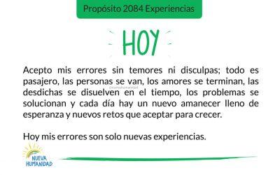 Propósito 2084 Experiencias