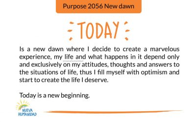 Purpose 2056 New dawn
