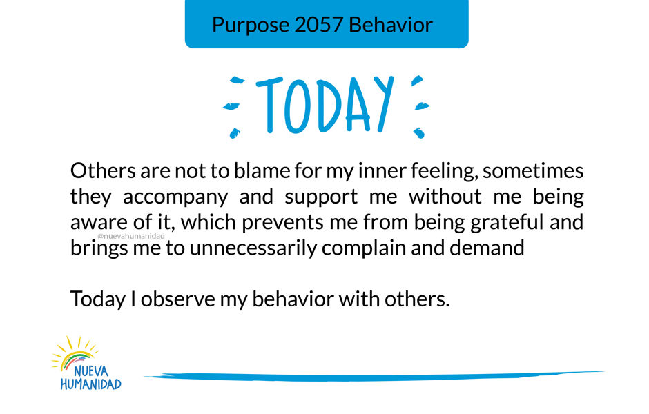 Purpose 2057 Behavior