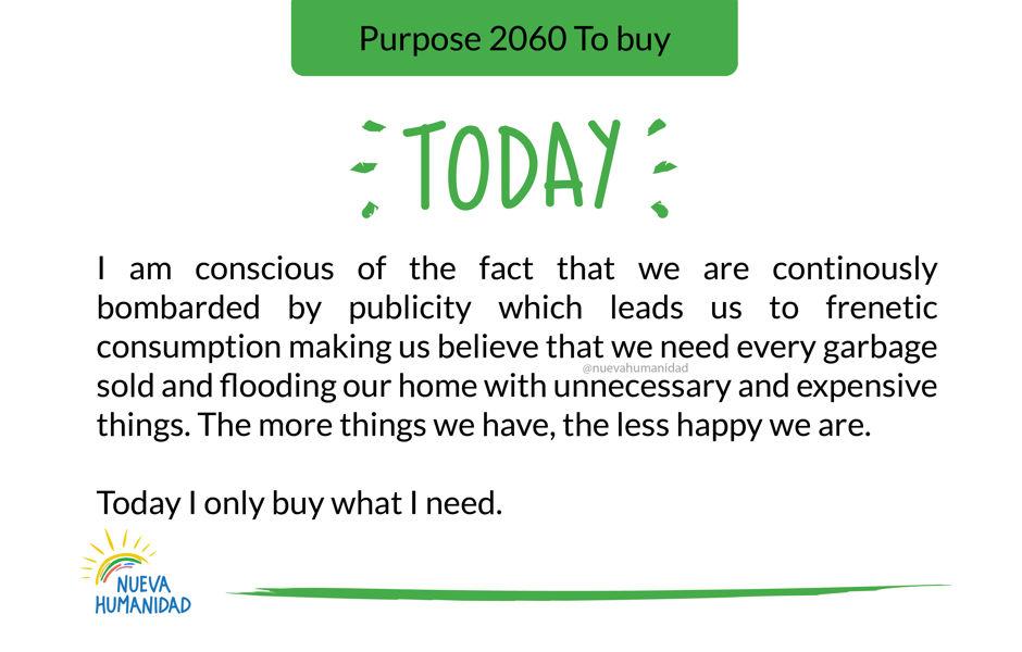 Purpose 2060 To buy