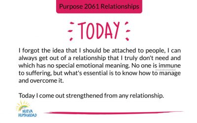 Purpose 2061 Relationships