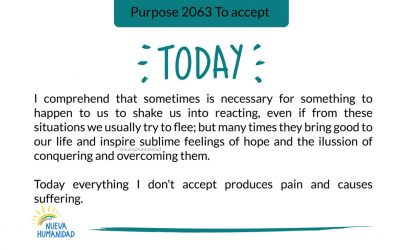 Purpose 2063 To accept