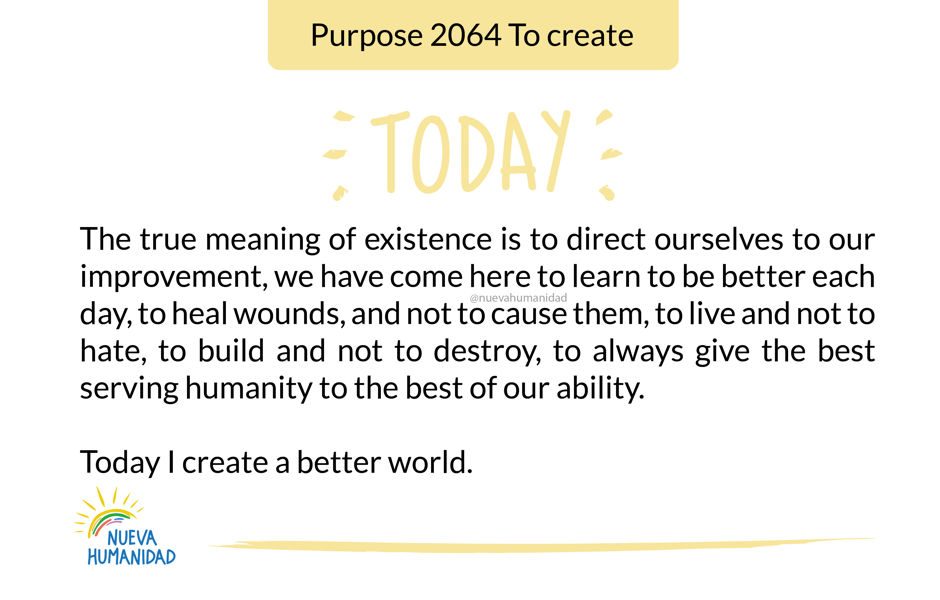 Purpose 2064 To create