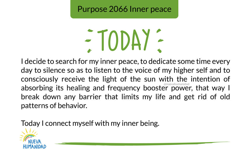 Purpose 2066 Inner peace