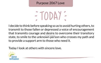 Purpose 2067 Love