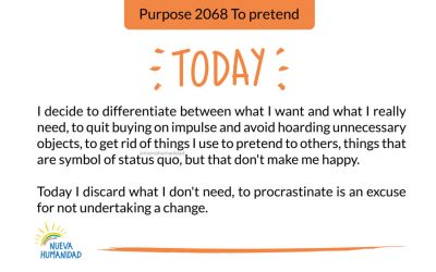 Purpose 2068 To pretend