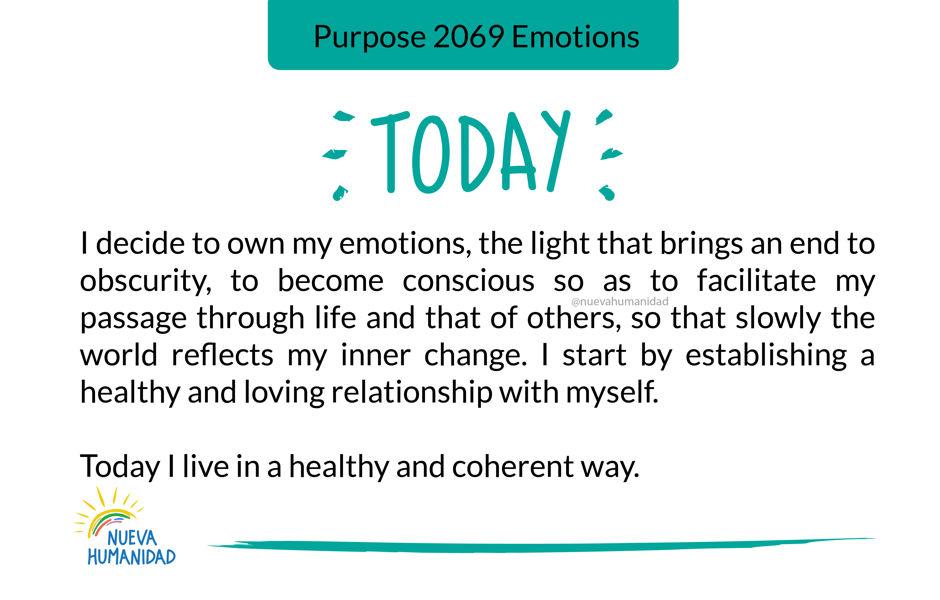 Purpose 2069 Emotions