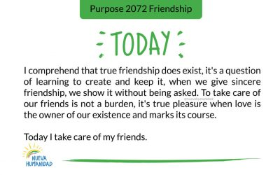 Purpose 2072 Friendship