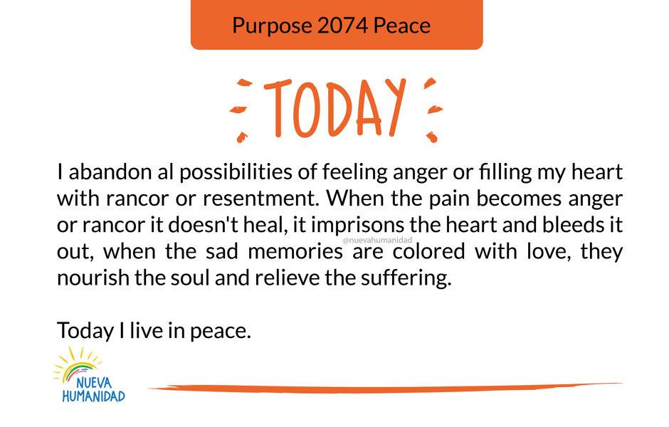 Purpose 2074 Peace