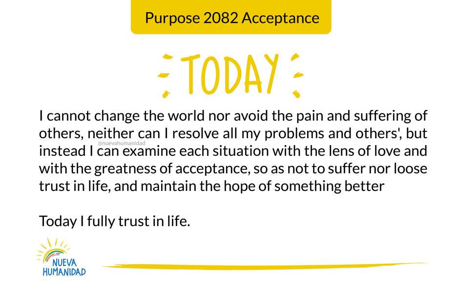 Purpose 2082 Acceptance