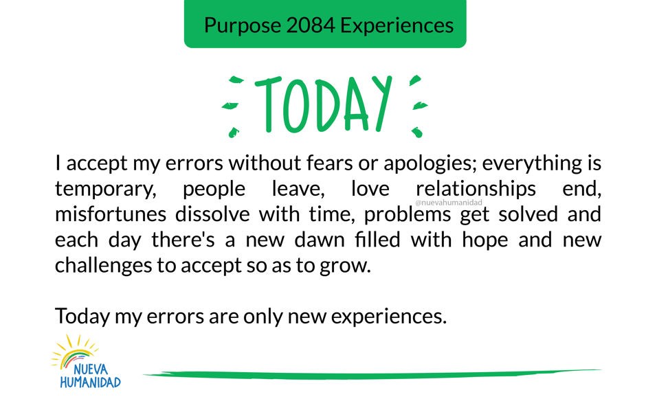 Purpose 2084 Experiences