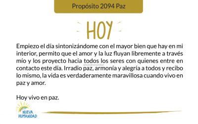 Propósito 2094 Paz