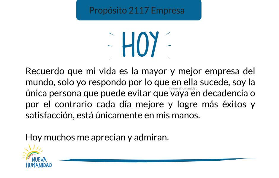 Propósito 2117 Empresa