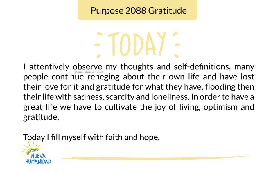 Purpose 2088 Gratitude