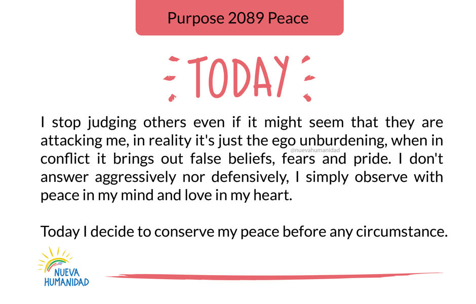 Purpose 2089 Peace