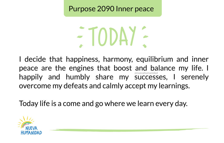 Purpose 2090 Inner peace