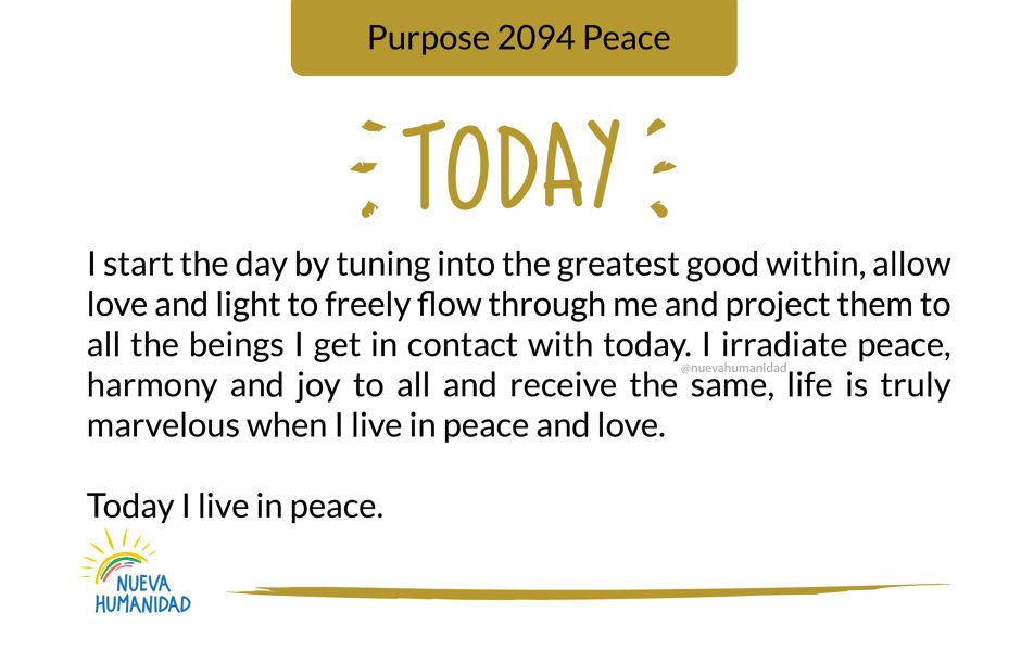 Purpose 2094 Peace