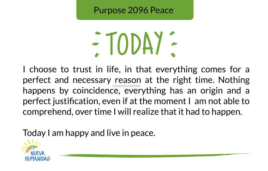Purpose 2096 Peace