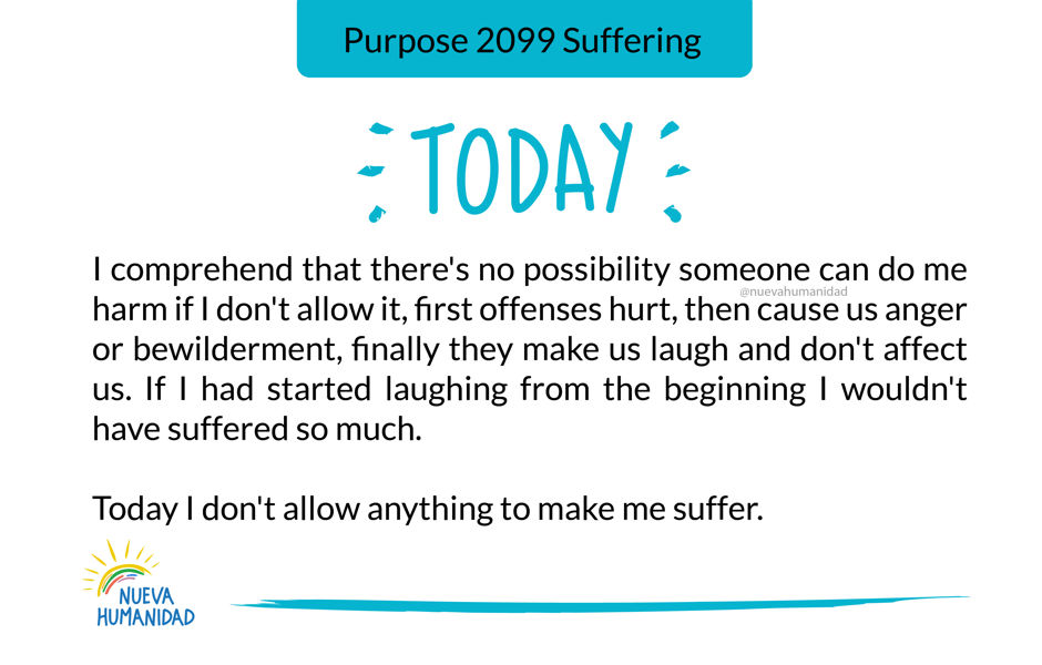 Purpose 2099 Suffering