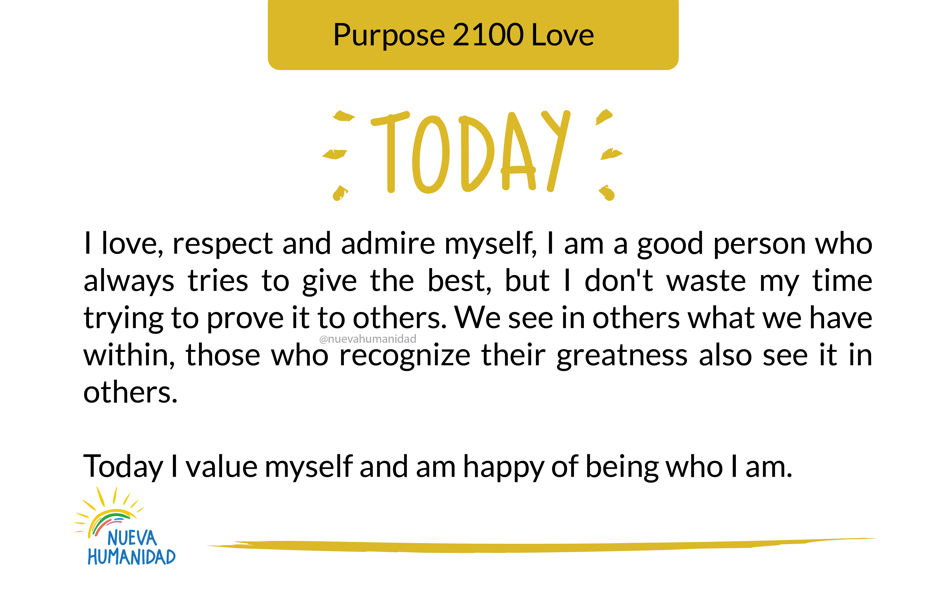 Purpose 2100 Love